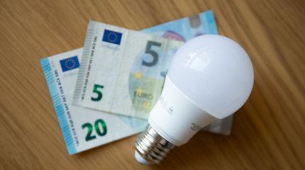 Didėja elektros skirstymo kainos riba, tai lems galutinį tarifą