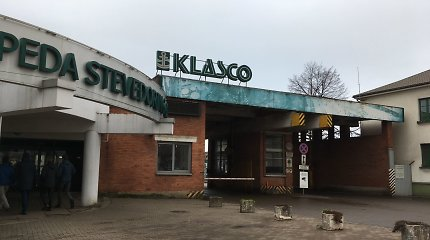 Krovos kompaniją lankę Klaipėdos vadovai vėl išvydo atvirai kraunamą geležies rūdą