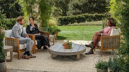 Harry ir Meghan efektas: interviu metu naudoti lauko baldai išparduoti per kelias dienas