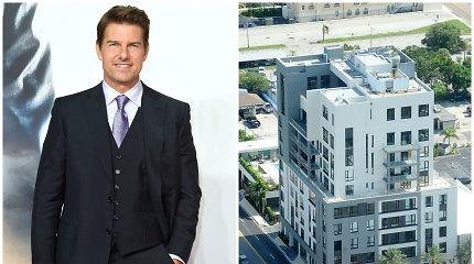 Tomas Cruise'as savo šeimą perkėlė į prabangius scientologijos apartamentus: neleis palikti kulto