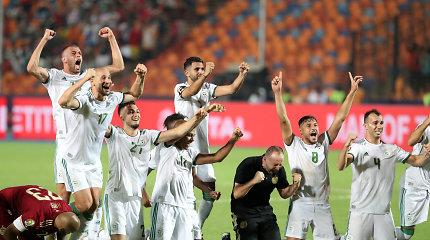 Dramatiškas Afrikos čempionato finalas – kuriozinis įvartis ir Alžyro triumfas