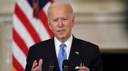 JAV Senatas priėmė 1,9 trilijonų dolerių COVID-19 ekonomikos skatinimo paketą