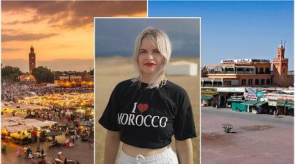 """""""Blondinė Maroke"""" Rasa Barčaitė: karantino pradžioje vietiniai badė pirštais, bet galiausiai suprato – nesu turistė"""
