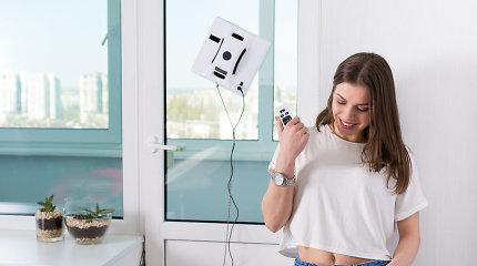 Kaip išsirinkti langų valymo robotą? Specialistų patarimai