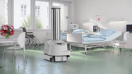 Lietuvą pasiekė Europos Komisijos nupirktas dezinfekcijos robotas