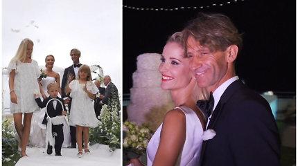 """Italijoje ištekėjusi šokėja Edita Daniūtė: """"Truputį nusivyliau, kad neatsiklaupė ant kelių"""""""