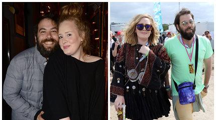 Adele oficialiai pateikė skyrybų dokumentus: dalinsis sūnaus Angelo globa