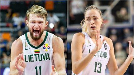 Apdovanoti metų krepšininkai: laurus susižėrė Domantas Sabonis ir Gintarė Petronytė