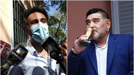 """Nutekinti Diego Maradonos gydytojų ciniški pokalbiai: """"Mirs tas storulis"""""""