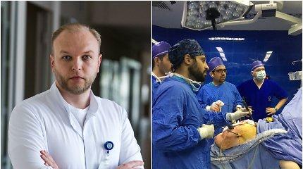 Irane operavęs chirurgas D.Danys apie šios šalies ypatumus: kartais man gaila mūsų pacientų
