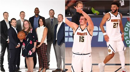 """Lietuviška NBA Pelenės istorija: septyneri metai, pakeitę """"Nuggets"""" trajektoriją"""