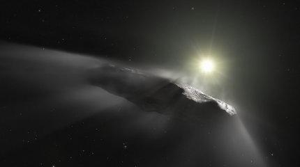Oumuamua ir ateiviai, arba Kaip ant vienos neatsargios pastraipos pasimovė daugybė žurnalistų