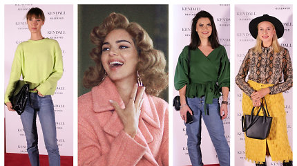 Kendall Jenner tapo prekės ženklo veidu: kolekcijos įvertinti atvyko ir žinomos sostinės damos