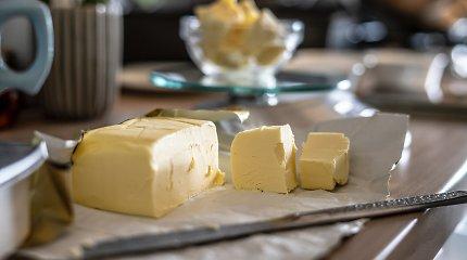 Kodėl sviestas tapo toks kietas? Konditerijos ekspertė mano įminusi mįslę