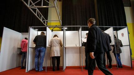 """Seimo narių skaičius nekis, dvigubos pilietybės referendumas įvyko, bet balsų """"už"""" nepakanka"""