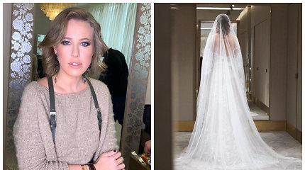 Maskvoje ištekėjo Ksenija Sobčiak: įspūdingos vestuvės – su 300 svečių ir minus 18 kg