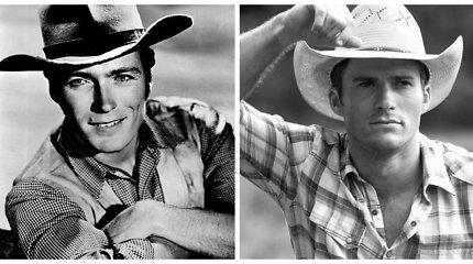 Aktorius Scottas Eastwoodas – it iš akies trauktas jo tėvas Clintas Eastwoodas jaunystėje