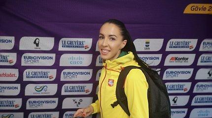 Trišuolininkė Diana Zagainova pateko į Europos jaunimo čempionato finalą