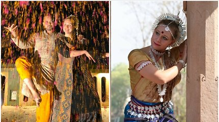 Indiško šokio pradininkė Lietuvoje Kristina Luna – apie tai, kaip indai suvokia laiką ir kokias istorijas pasakoja