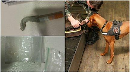 Iš Londono grįžtantis policijos ieškomas šiaulietis parsivežė ir narkotikų