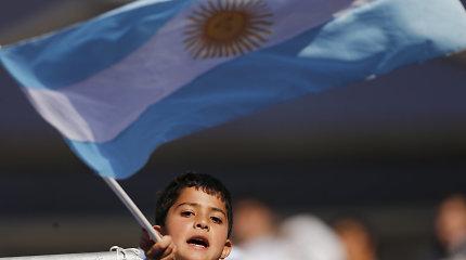 Argentina prašo TVF restruktūrizuoti skolos mokėjimus