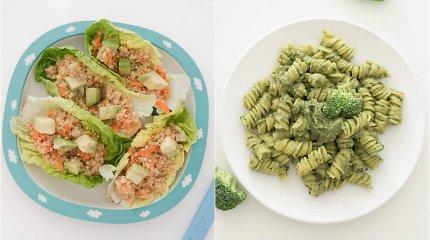 """auGalingas pirmadienis: salotų """"laiveliai"""", makaronai ir blyneliai, kurie patiks ir vaikams"""