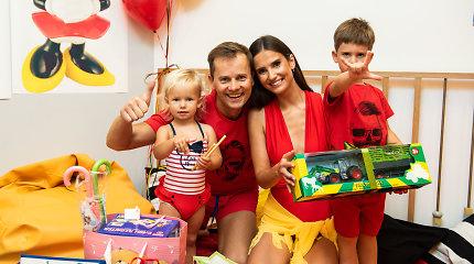 """Nerijaus Juškos šeimoje – triguba gimtadienio šventė: """"Geriausia dovana yra šeima"""""""