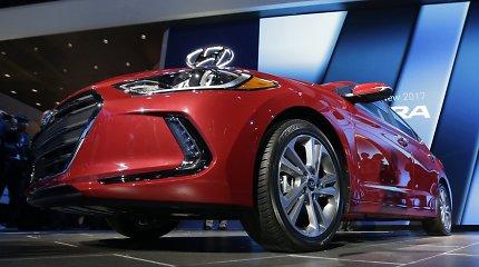 """""""Hyundai Motor"""" grynasis pelnas pirmąjį ketvirtį išaugo 175 proc."""