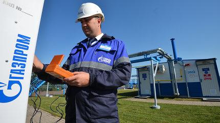"""Gazprom"" apkarpė dujų eksporto kainų prognozę"