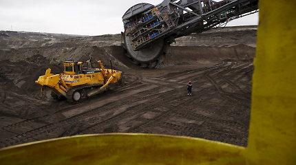 Vokietijoje klimato aktyvistai mėgino užimti anglių kasyklas