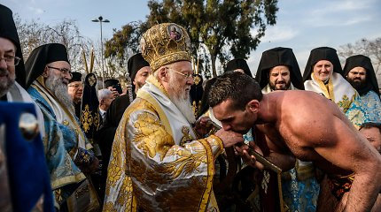 Ukrainos prezidentas ir Konstantinopolio patriarchas pasirašė susitarimą dėl autokefalijos