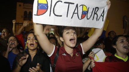 Kas gresia Venesuelai, jei N. Maduro išliks valdžioje