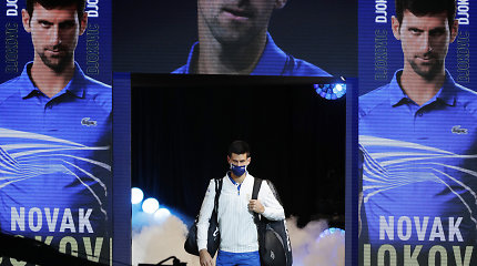 Netikėtas manevras: nuo ATP žaidėjų tarybos atsiskyręs N.Džokovičius vėl siekia sugrįžti