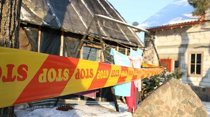 Laplandijoje atostogaujančių vilniečių name sprogo šildymo katilas, išgriuvo dalis sienos
