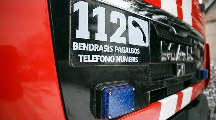 Per gaisrą Vilniaus rajone žuvo žmogus