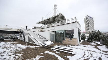 Dėl skolų parduodamas Laimučio Pinkevičiaus sklypas prie Baltojo tilto Vilniuje