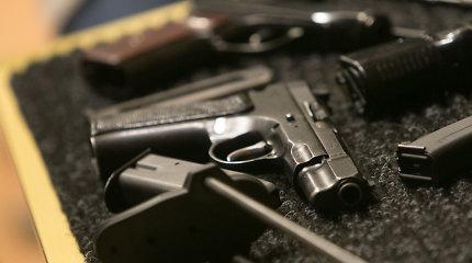 Rokiškio rajone rastas savadarbis pistoletas
