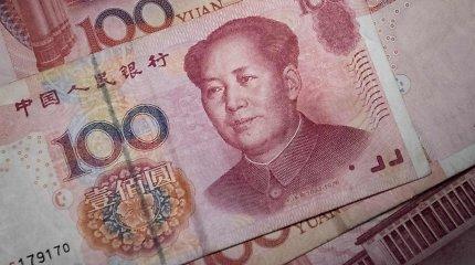 Kinijos ekonomika antrąjį ketvirtį augo lėčiausiai beveik per tris dešimtmečius