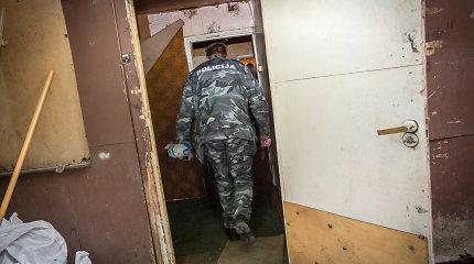 Šakių rajone sugautas vienu peilio dūriu vyriškį patiesęs žudikas