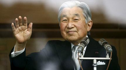 Japonijos imperatorius išreiškė atgailą dėl šalies veiksmų per Antrąjį pasaulinį karą