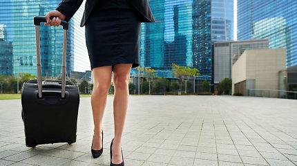 Kelioninės kojinės maksimaliai sumažina diskomfortą, patiriamą keliaujant