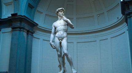 """Rusijoje vyks balsavimas, ar aprengti Michelangelo """"Dovydą"""""""