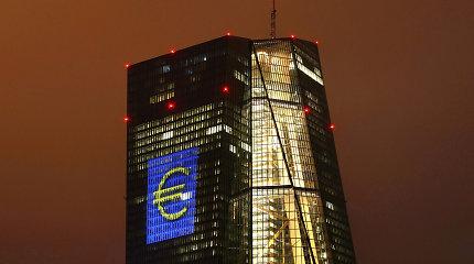 ECB nepakeitė pagrindinių palūkanų normų