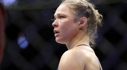 Ronda Rousey po pralaimėjimo – apie sustiprėjusį moterų divizioną ir nežinomybę dėl ateities