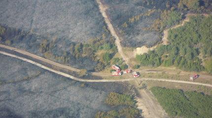 Miškų urėdija ketina pirkti septynis naujus automobilius gaisrų gesinimui
