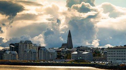 Islandijos centrinis bankas vėl sumažino palūkanų normas, siekdamas paskatinti ekonomiką