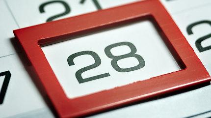 Kodėl būtent vasaris turi 28 dienas?