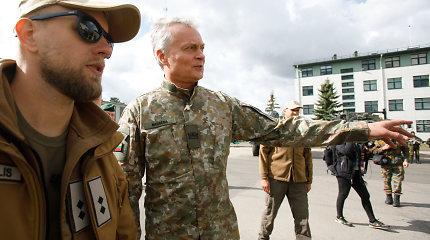 G.Nausėda JAV žiniasklaidai: užimti Lietuvos per dvi dienas neįmanoma