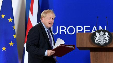"""JK premjeras B.Johnsonas leido paskelbti ataskaitą dėl įtariamo """"Rusijos kišimosi"""""""