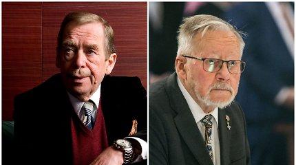 Čekų istorikas: Vytautas Landsbergis ir Vaclavas Havelas turėjo intelektualų problemą